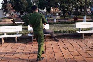 Phát hiện người đàn ông tử vong trên ghế đá hoa viên ở Đắk Lắk