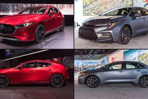 Xe hạng C: Mua Toyota Corolla Altis hay Mazda3 chơi Tết?