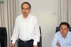 Bí thư Thành ủy TPHCM làm việc với lãnh đạo tỉnh Quảng Nam