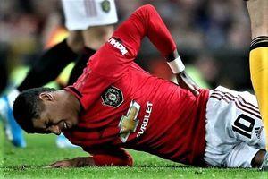 Man Utd nhận tin xấu về chấn thương của Rashford