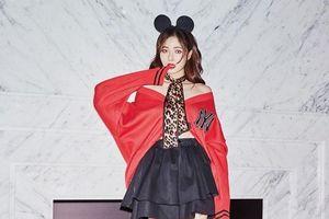 HyunA mặc đồ thể thao Mickey vẫn toát lên vẻ gợi cảm