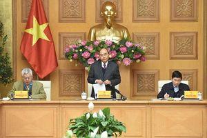 Thủ tướng Nguyễn Xuân Phúc chủ trì họp Tổ tư vấn kinh tế của Thủ tướng Chính phủ
