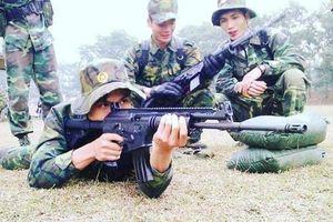 Khẩu súng cùng 'gia phả' Galil ACE ít biết đang phục vụ Quân đội Việt Nam