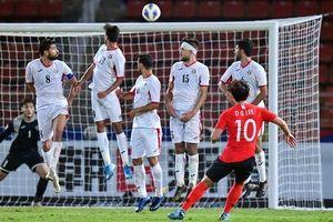 Siêu phẩm sút phạt đưa Hàn Quốc vào bán kết U23 châu Á 2020!