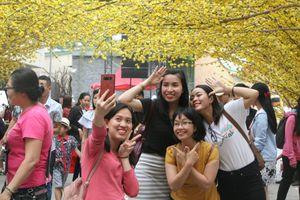 Tràn ngập không khí mùa xuân tại Nhà văn hóa Thanh niên TP.HCM