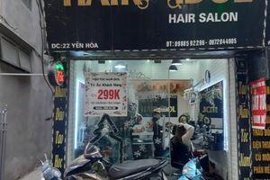 Tiệm cắt tóc, uốn mi làm việc xuyên trưa, kiếm trăm triệu ngày Tết