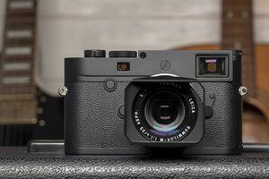 Leica ra mắt M10 Monochrom chuyên chụp đen trắng giá 8.295 USD