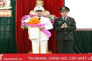Phó phòng Cảnh sát kinh tế giữ chức Phó Trưởng Công an huyện Can Lộc