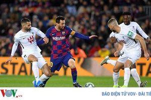 Messi ghi bàn, Barcelona giành lại ngôi đầu bảng từ Real Madrid