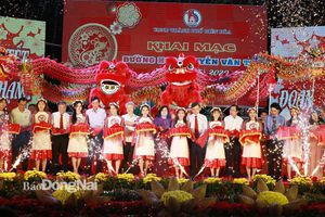 Khai mạc đường hoa Nguyễn Văn Trị mừng Xuân Canh Tý 2020