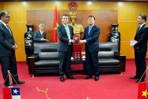 Chile hiện là đối tác thương mại lớn thứ 4 của Việt Nam tại Mỹ Latinh