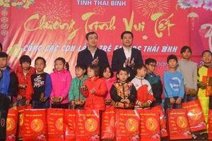 Thái Bình: Vui tết cùng các con Làng trẻ em SOS