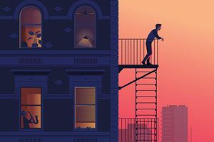 Chuyện gã nhân viên văn phòng 40 tuổi thích mát-xa bay ra ngoài cửa sổ