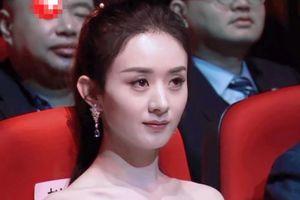 Triệu Lệ Dĩnh khó chịu khi bị đồng nghiệp mỉa mai ở lễ trao giải