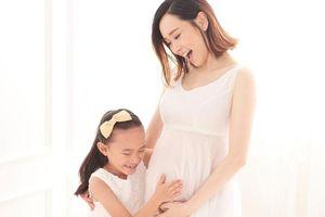 Nhan sắc hoa hậu tai tiếng Hong Kong khi mang bầu 8 tháng