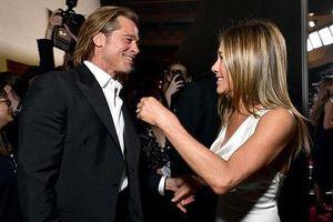 Brad Pitt khóc khi Jennifer Aniston thắng giải