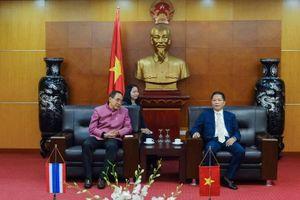 Bộ trưởng Trần Tuấn Anh tiếp và làm việc với Đại sứ Thái Lan tại Việt Nam Tanee Sangrat