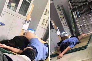 Tạm đình chỉ bác sĩ 'ôm sinh viên ngủ trong ca trực'