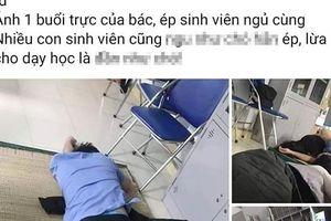 Tạm đình chỉ bác sĩ để làm rõ có hay không việc 'ôm nữ sinh viên ngủ trong ca trực'