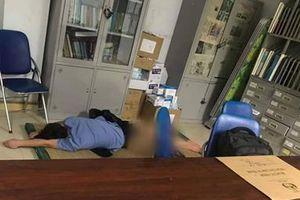 Yêu cầu xác minh vụ bác sĩ khoa ngoại 'ôm sinh viên ngủ trong ca trực'