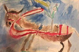 Người đàn ông treo giá triệu đô cho bức vẽ nguệch ngoạc năm 6 tuổi