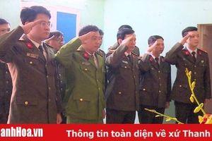 Công an tỉnh Thanh Hóa: Trao tặng 150 triệu đồng cho thân nhân 3 liệt sỹ CAND hi sinh tại Đồng Tâm