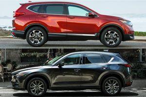 Xe SUV chơi Tết 2020: Mua Mazda CX-5 hay Honda CR-V?