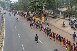 5 triệu người Ấn Độ làm 'hàng rào sống' bảo vệ môi trường