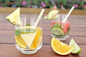 Cách làm một số loại đồ uống detox đơn giản, giúp thanh nhiệt, giải độc trong dịp Tết