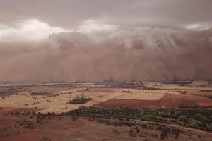 Cơn bão bụi biến 'ngày thành đêm' ở Australia