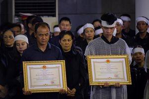 Hà Nội đề xuất trợ cấp cho con 2 cảnh sát hy sinh ở Đồng Tâm