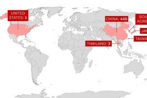Gấp đôi số ca tử vong do viêm phổi cấp Trung Quốc sau 1 ngày