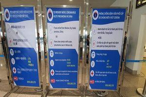 Bộ Y tế yêu cầu phát tờ rơi cho khách đi về từ Trung Quốc