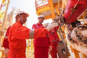 Lãnh đạo PVEP kiểm tra tình hình, làm việc và chúc Tết tại các dự án dầu khí trên biển