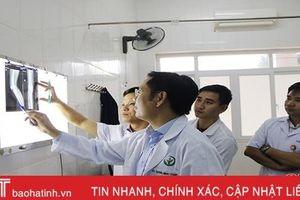 Bệnh viện đa khoa TP Hà Tĩnh nỗ lực vì sự hài lòng của người bệnh