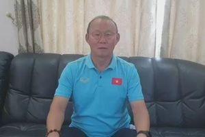 HLV Park Hang-seo gửi lời chúc mừng năm mới đến CĐV Việt Nam