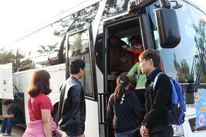 Hải Phòng hỗ trợ 130 chuyến xe để người lao động về quê đón Tết