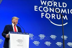 WEF 2020: Mỹ 'hâm nóng' mâu thuẫn thương mại với EU