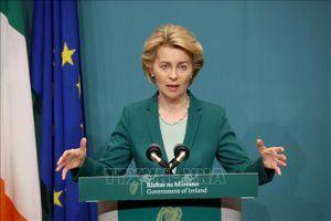 Chủ tịch EC lạc quan về khả năng Mỹ và EU đạt thỏa thuận thương mại