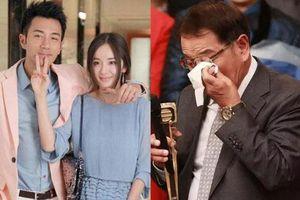 Bố chồng cũ Dương Mịch bật khóc trên sóng trực tiếp của TVB
