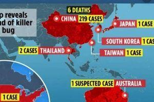 Mỹ phát hiện trường hợp đầu tiên nhiễm Coronavirus từ Trung Quốc