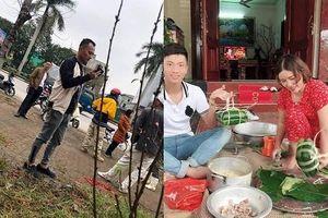 Muôn kiểu đón Tết của các ngôi sao bóng đá Việt Nam