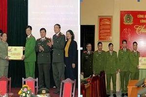 Thứ trưởng Nguyễn Duy Ngọc chúc Tết, kiểm tra công tác ứng trực Công an cơ sở tại Hà Nội