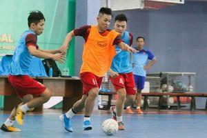Đội tuyển futsal quốc gia miệt mài tập luyện thời điểm cận Tết