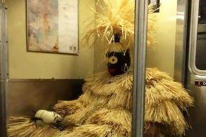 Những hành khách 'quái dị' nhất trên tàu điện ngầm, ai nhìn cũng phải bật cười