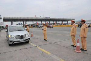 Cục CSGT kiểm tra công tác xử lý vi phạm nồng độ cồn trên cao tốc Hà Nội – Hải Phòng
