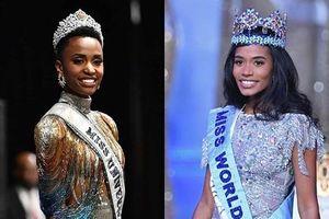 Hai người đẹp gốc Phi thâu tóm danh hiệu nhan sắc lớn trong năm 2019