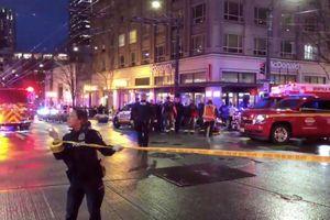 Xả súng trên phố đông người, 6 người thương vong