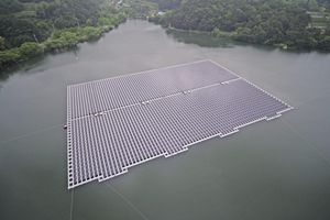 Masdar xây dựng trang trại điện mặt trời nổi lớn nhất Đông Nam Á