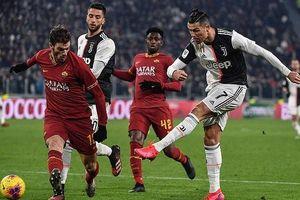 Ronaldo khơi mào, Juventus đè bẹp Roma